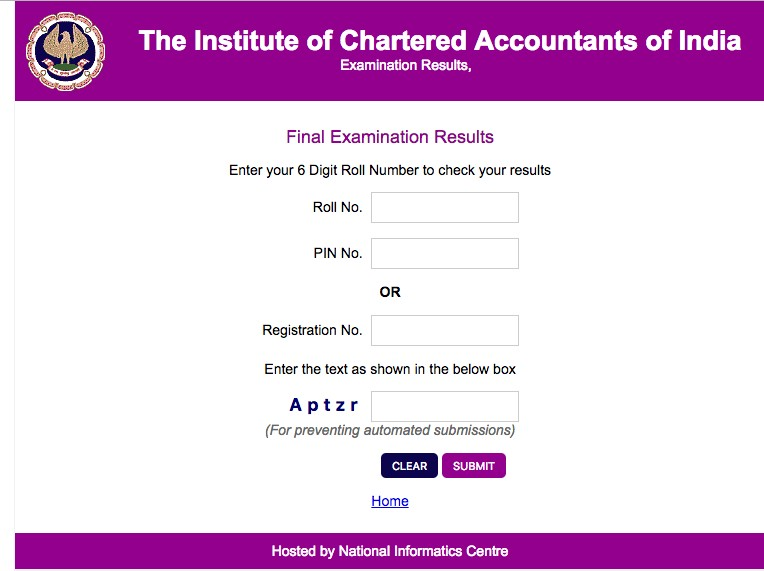 CA FINAL Result May 2018 ICAI Results on 20th July 2018